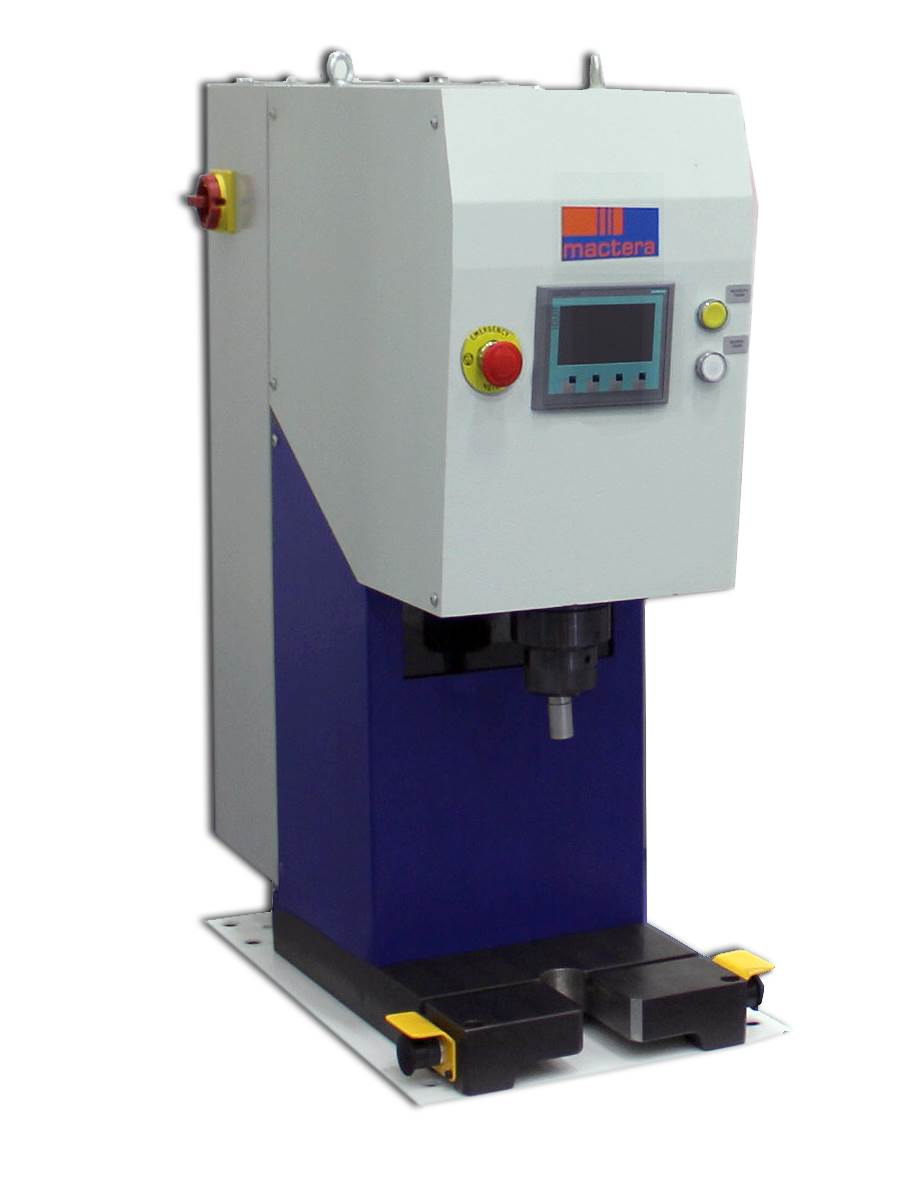 Servo Controlled Riveting Machine